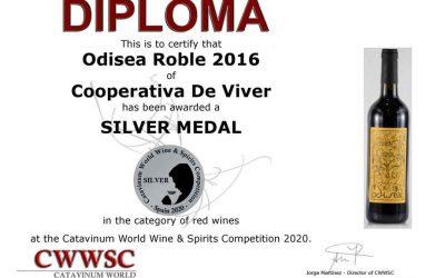 Odisea Roble 2016, medalla de Plata en CWWSC