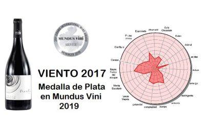 Viento Roble, Medalla de Plata en Mundus Vini 2019